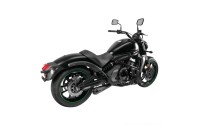 Black Friday Sale - Two Brothers Racing Comp-S 2-1 Exhaust Ceramic Black Stainless Steel with Carbon Fiber Tip - 005-4200199-B