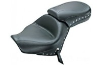 Black Friday Sale - Mustang 2-piece Wide Studded Touring Seat - 76520