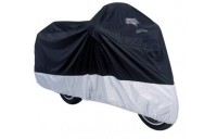 Black Friday Sale - Nelson-Rigg Defender Deluxe Black Motorcycle Cover - MC-904-05-XX