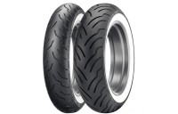 Black Friday Sale - Dunlop American Elite MT90B16 72H Wide Whitewall Front Tire - 45131391
