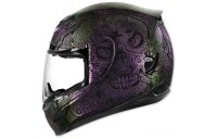 Black Friday Sale - ICON Airmada Chantilly Opal Full Face Helmet - 0101-10768