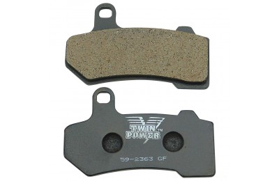 Black Friday Sale - Twin Power X-Stop Sintered Front / Rear Brake Pads - HD6018-CU7