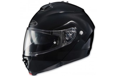 Black Friday Sale - HJC IS-MAX II Gloss Black Modular Helmet - 980-606
