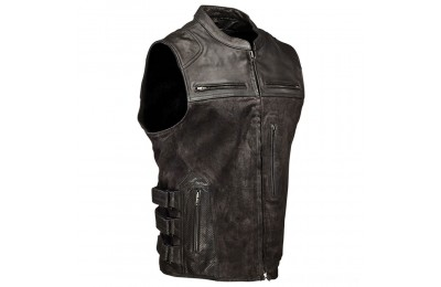 Black Friday Sale - Speed and Strength Men's Tough as Nails Black Vest - 1114-0505-0053