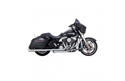 "Black Friday Sale - Vance & Hines Twin Slash 4"" Round Slip Ons Chrome - 16763"