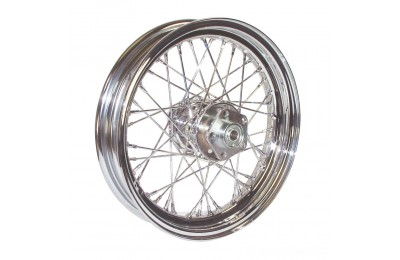 "Black Friday Sale - V-Factor Complete 40 Spoke Chrome Rear Wheel, 16 x 3"" - 51645"