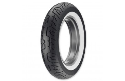 Black Friday Sale - Dunlop CruiseMax 150/80-16 Wide Whitewall Rear Tire - 45092227
