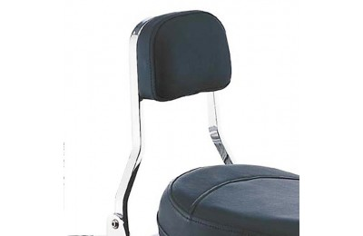 Black Friday Sale - Cobra Short Square Sissy Bar with Pad - 025920