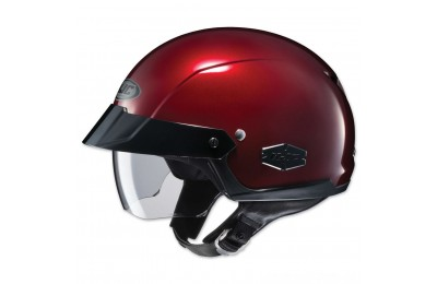 Black Friday Sale - HJC IS-Cruiser Metallic Wine Half Helmet - 0824-0111-06