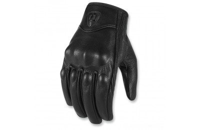 Black Friday Sale - ICON Men's Pursuit Black Gloves - 3301-3386