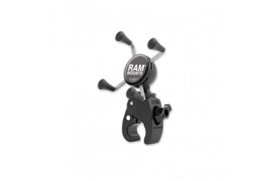 Black Friday Sale - Ram Mount Tough-Claw Mount with Universal X-Grip Cradle for Small Phones - RAM-HOL-UN7-400U