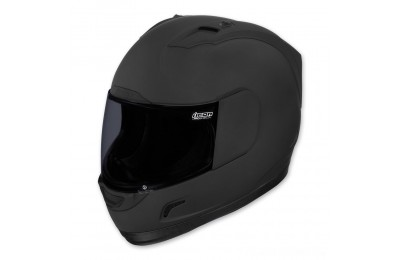 Black Friday Sale - ICON Alliance Dark Full Face Helmet - 0101-6645