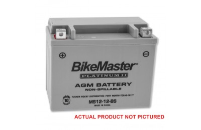 Black Friday Sale - BikeMaster AGM Platinum II Battery - MS12-10L-A2