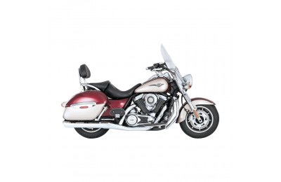 "Black Friday Sale - Vance & Hines Twin Slash 4"" Round Slip-Ons Chrome - 18371"