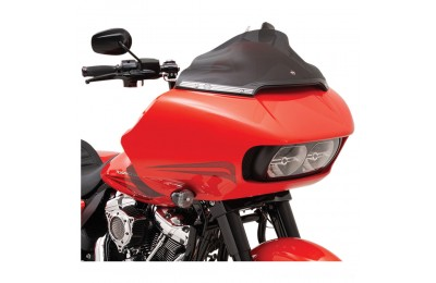 Black Friday Sale - Klock Werks 9″ Dark Smoke Sport Flare Windshield - 2310-0581