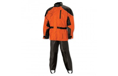 Black Friday Sale - Nelson-Rigg AS-3000 Aston Hi-Viz Orange Rain Suit - AS3000ORG04XL