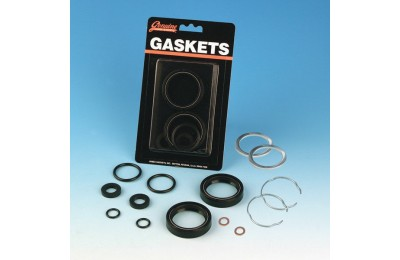 Black Friday Sale - Genuine James Front Fork Seal Rebuild Kit - JGI-45849-84