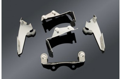 Black Friday Sale - Memphis Shades Fats/Slims Polished Trigger Lock Mount Kit - MEM8962