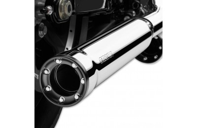 "Black Friday Sale - Cobra 3"" RPT Slip On Mufflers Chrome - 6070"