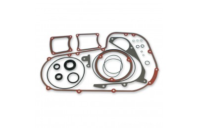 Black Friday Sale - Genuine James Inner and Outer Primary Cover Gasket and Seal Kit - JGI-34901-85-K