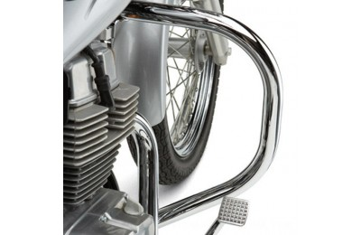 "Black Friday Sale - Cobra Standard Chrome 1-1/4"" Freeway Bars - 011468A"