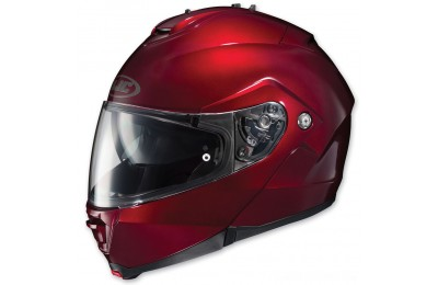 Black Friday Sale - HJC IS-MAX II Wine Modular Helmet - 980-264