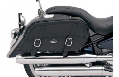 Black Friday Sale - Saddlemen Slanted Drifter Saddlebags - Extra Jumbo - 35010321