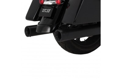 Black Friday Sale - Vance & Hines Eliminator 400 Slip Ons Black with Black End Caps - 46714