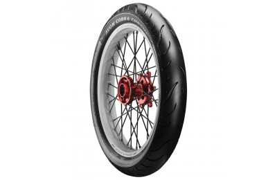Black Friday Sale - Avon AV91 Cobra Chrome 100/90-19 Front Tire - 4120011