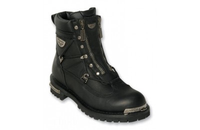 Black Friday Sale - Milwaukee Motorcycle Clothing Co. Men's Throttle Boots - MB440-11