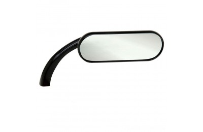 Black Friday Sale - Arlen Ness Black Mini Oval Micro Mirrors (Sold Individually) - 13-413