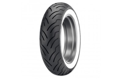 Black Friday Sale - Dunlop American Elite180/65B16 81H Wide Whitewall Rear Tire - 45131150