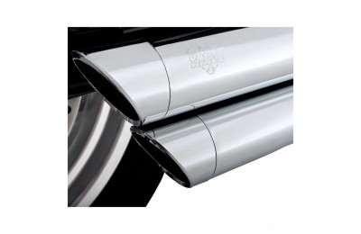 Black Friday Sale - Vance & Hines Big Shots Staggered Chrome Exhaust - 17938