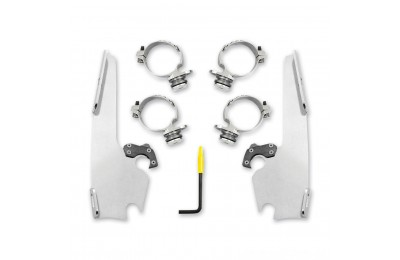 Black Friday Sale - Memphis Shades Fats/Slims Polished Trigger Lock Mount Kit - MEK2013