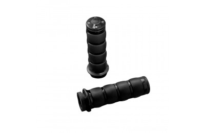 Black Friday Sale - Kuryakyn Motorcycle Specific Black ISO Grips - 6320