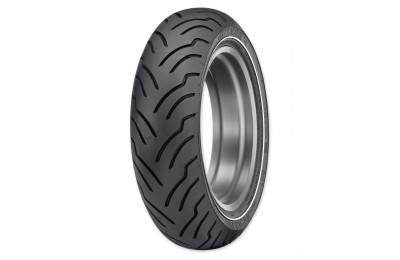 Black Friday Sale - Dunlop American Elite MU85B16 77H Narrow White Stripe Rear Tire - 45131597