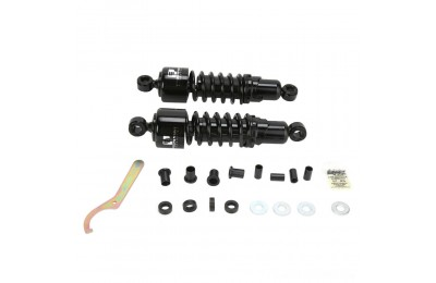 "Black Friday Sale - Progressive Suspension 412 Black 12"" Heavy Duty Shocks - 412-4080B"