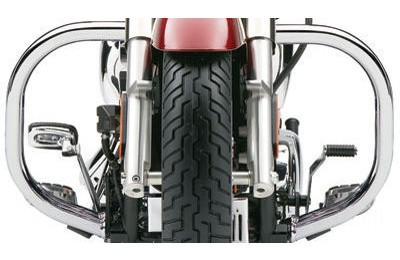 "Black Friday Sale - Cobra Fatty Chrome 1-1/2"" Freeway Bars - 012464"