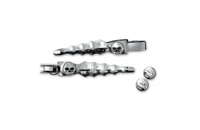 Black Friday Sale - Kuryakyn Chrome Zombie Lever Set - 1058