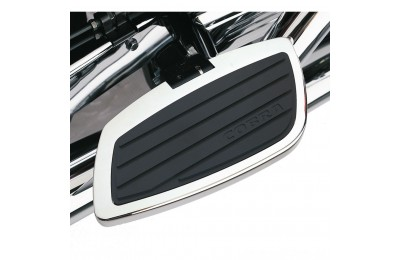 Black Friday Sale - Cobra Classic Chrome Driver Floorboards - 06-4765