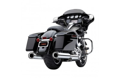 "Black Friday Sale - Cobra 4"" Neighbor Hater Chrome Slip-On Mufflers - 6107"