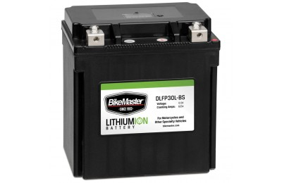 Black Friday Sale - BikeMaster Lithium Ion Battery - DLFP-30L-BS
