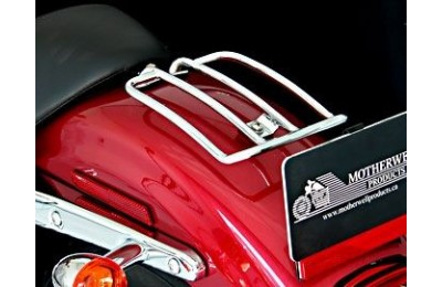 Black Friday Sale - Motherwell Chrome Solo Seat Luggage Rack - MWL-210-04