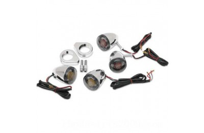 Black Friday Sale - J&P Cycles Deuce Style LED Turn Signal Kit