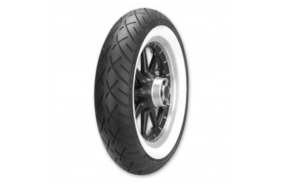 Black Friday Sale - Metzeler ME888 Marathon Ultra MH90-21 Wide Whitewall Front Tire - 2408500
