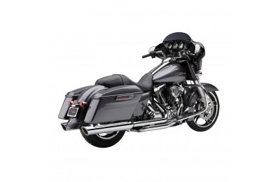 Black Friday Sale - Cobra 909 Twins Chrome Slip-On Mufflers - 6106