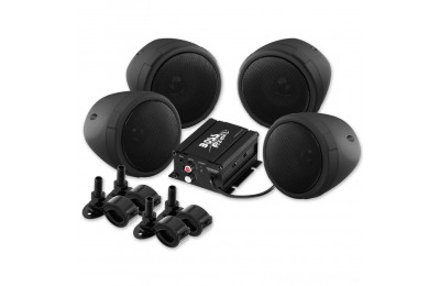 "Black Friday Sale - Boss Audio Systems 1000 Watt Bluetooth 3"" Black Speaker Kit - MCBK470B"