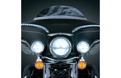 Black Friday Sale - Kuryakyn 7″ LED Phase 7 Headlight - 2249