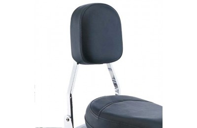 Black Friday Sale - Cobra Standard Square Sissy Bar with Pad - 025250