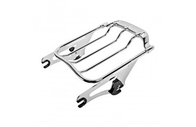 Black Friday Sale - HogWorkz Chrome Air Wing Luggage Rack - HW129146